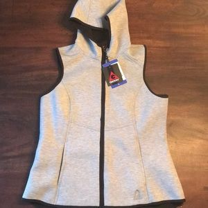 Jackets & Blazers - NWT Gray Zip-Up Vest